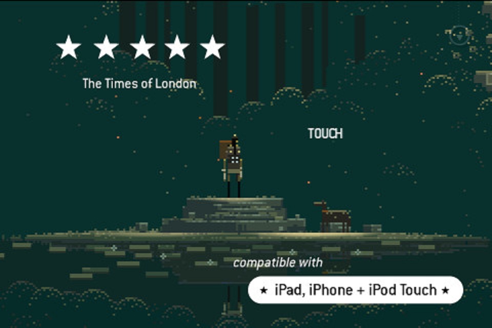 Screenshot Superbrothers: Sword and Sworcery EP iPad Review