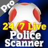 Police scanner radio. live police scanner & radio Pro. 911 emergency r